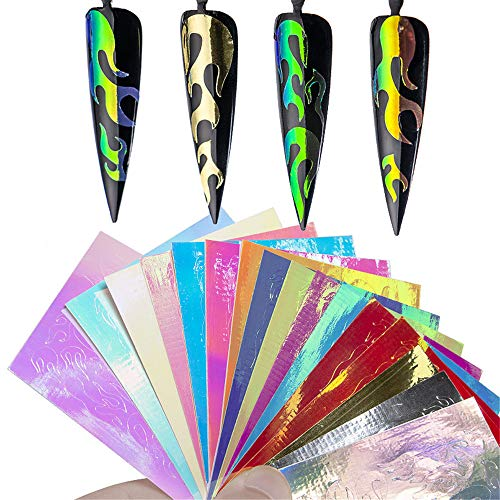 Holographic Stickers Silver Sticker multicolor product image