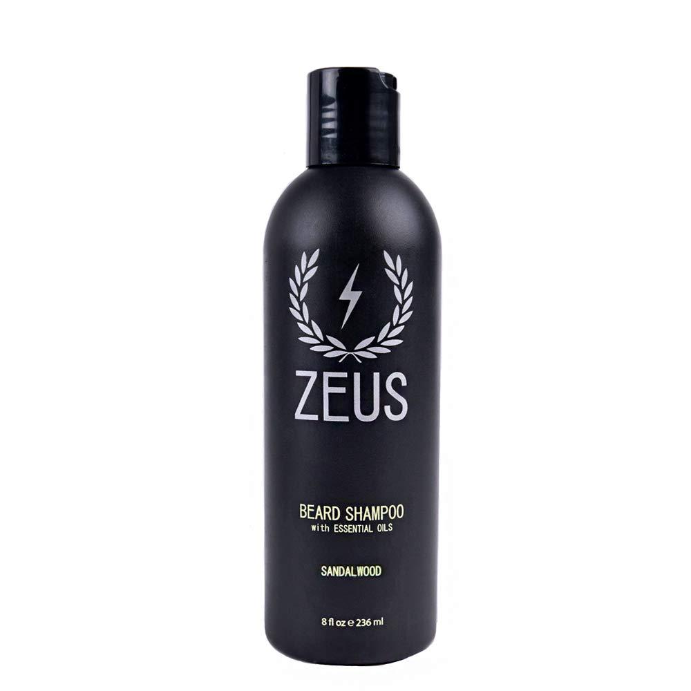 ZEUS Beard Shampoo and Wash, Verbena Lime, 8 Fluid Ounce Newport Apothecary Inc. ZEU426-109-04