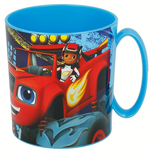 TAZA MICROONDAS 350 ML. BLAZE AND THE MONSTER MACHINES