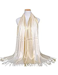 Yamalans Fashion Women Muslim Long Soft Cotton Shawl Luxury Scarf Tassel Stole Wrap