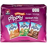 Quaker Popped Rice Crips Snacks, Gluten Free, Sweet Snack Mix, 0.91 Ounce