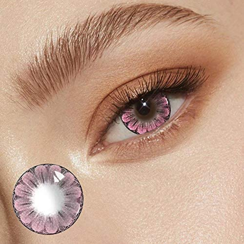 Colored Contacts for Eyes Cosplay Costume Party Make-up for Girls