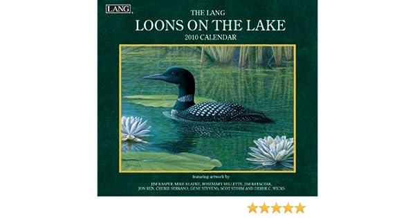 20991001925 Lang Loons On The Lake 2020 Wall Calendar