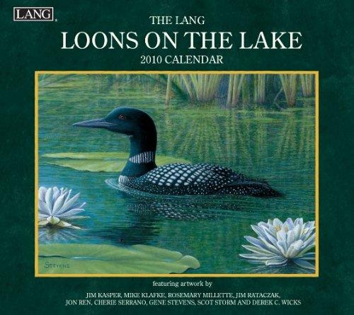 Loons On The Lake 2010 Wall Calendar ()