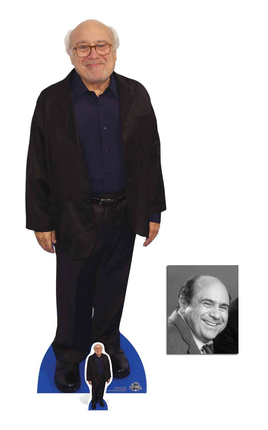 Fan Pack - Danny DeVito Lifesize Cardboard Cutout / Standup / Standee - Includes 8x10 Star Photo