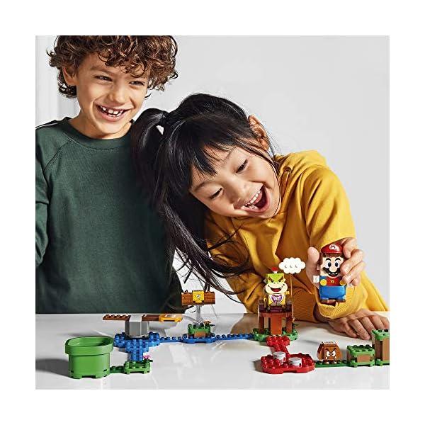LEGO Super Mario Starter Pack Costruibile per il Percorso di base Avventure con Super Mario, Giocattolo e Idea Regalo… 6 spesavip
