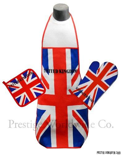 Kitchen Oven mitt holder England British product image