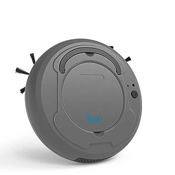 HUIJIN1 Robot aspiradora, Barrido de Carga USB succión con succión Fuerte, tecnología de detección