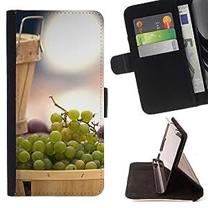 DEVIL CASE - FOR Samsung Galaxy S3 Mini I8190Samsung Galaxy S3 Mini I8190 - Fruit Mint Lemon - Style PU Leather Case Wallet Flip Stand Flap Closure Cover