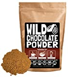 Organic Cocoa Powder, Wild Dark Chocolate Powder, Handcrafted, Single-Origin, Fair Trade, Organic, Non-Alkalized Chocolate from Peruvian Heirloom Cacao beans (4 ounce)
