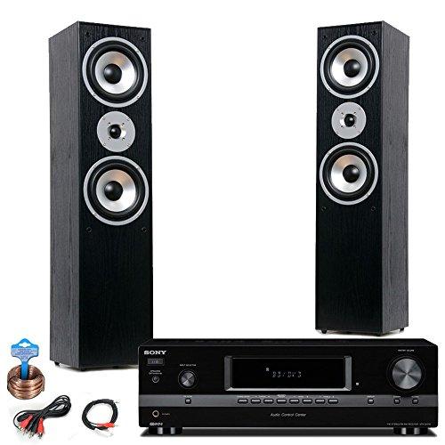 Hifi Heimkino Musikanlage Sony Verstärker Standboxen Kabel HIFI-Premium