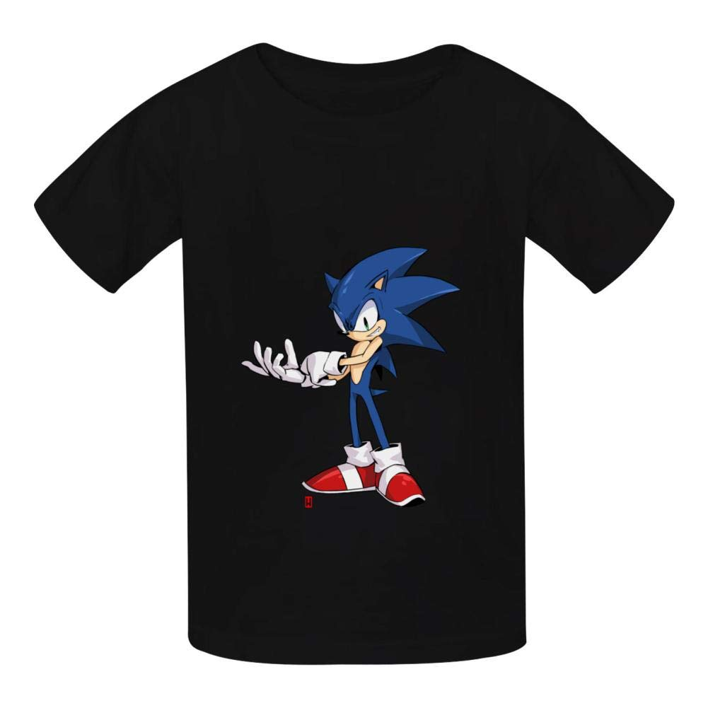 oylp Sonic and Hedgehog Cotton T-Shirt for Children