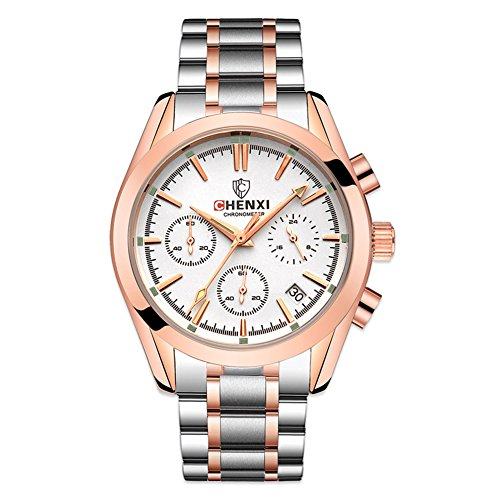 Rockyu ブランド メンズ 男性 ビジネス 防水 サファイアガラス 海外ブランド マルチカラー メンズ時計
