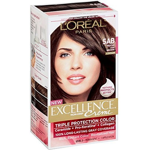 Exc H/C Ash Brwn 5ab Size 1ct L'Oreal Excellence Creme Hair Color Ash Brown #5ab by L'Oreal Paris