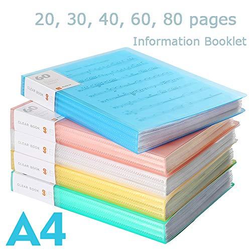 Office Supplies Informationsbroschüre, A4-Einlage, transparente Innenseite aus aus aus PP-Menüordner aus Kunststoff, geeignet für Studenten B07NTPHM6L | Neuer Eintrag  36b32b
