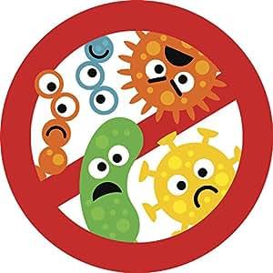 Amazon.com: Cute Kindergarten Nursery Anti-Germs Bacteria ...