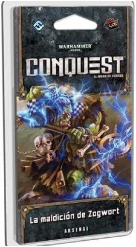 Fantasy Flight Games Warhammer 40000 La Maldición de Zogwort (EDGWHK05): Amazon.es: Juguetes y juegos