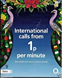 O2 International Pay As You Go / Payg Micro / Standard Sim Card