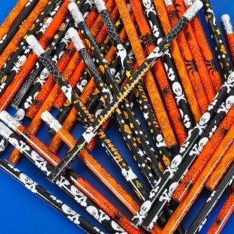 Halloween Theme Pencils 48 Pack