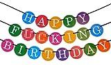Happy Birthday - Funny Birthday Banner - 21st Birthday Banner - 30th Birthday