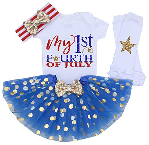 My 1st 4th of July Baby Girl Outfits
