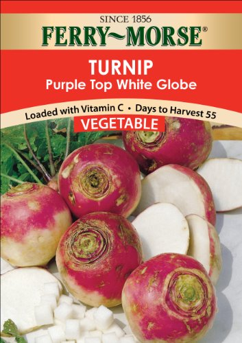(Ferry Morse Seven Top Turnip Seed Packet)