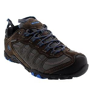 Mens Hi-Tec Penrith Low Hiking Walking Waterproof Outdoors Trail Sneaker - Charcoal - 11