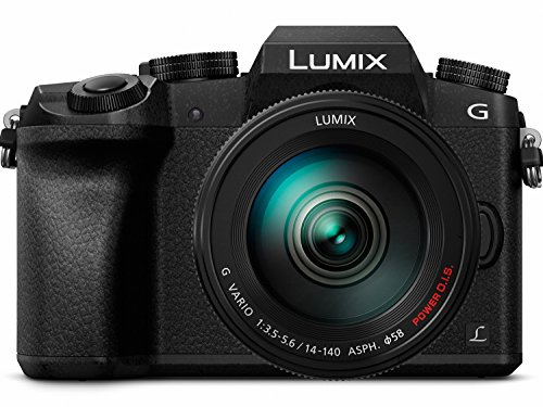 Review PANASONIC LUMIX G7 4K Mirrorless Camera, with 14-140mm Power O.I.S. Lens, 16 Megapixels, 3 Inch Touch LCD, DMC-G7HK (USA BLACK)