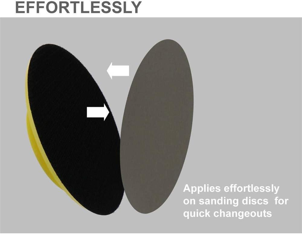 100PCS 3 Inch 75mm 60-10000 Grit Flocking Sanding Paper Wet Dry Sandpaper Car Headlight Sanding Disc Polishing Paper,60 2500