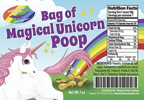 - Bag of Edible Magical Unicorn Poop