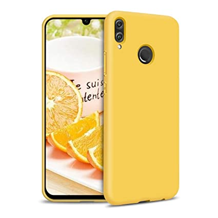 Carcasa Xiaomi Redmi Note 7, Silicona Funda para Xiaomi Redmi Note 7 Ultrafina Suave TPU Cover Delgado Flexible Goma Gel Mate Case Anti-rasguños Anti ...
