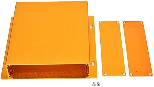 Caja de cerramiento de Aluminio para proyectos, Caja electrónica ...
