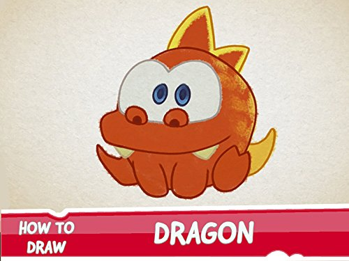 How to Draw Dragon from Cut the Rope -