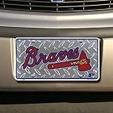 Atlanta Braves Diamond Emboss Auto Tag