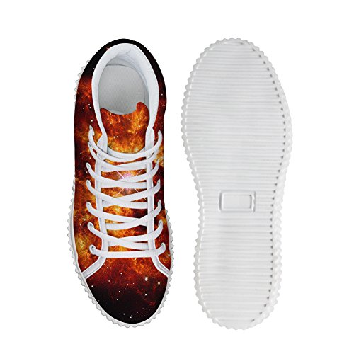 HUGS IDEA Fashion colorful Galaxy Women Shoes Platform Sneakers Galaxy Star 3 NV5juBxGu3
