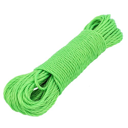 uxcell Nylon Clothes Line Washing Clothesline Rope Laundry D