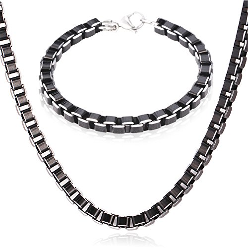 U7 Jewelry Plated Necklace Bracelet