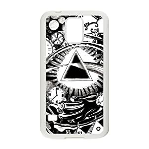 Samsung Galaxy S5 Cell Phone Case White Pink Floyd 001 Basic Cell Phone Carrying Cases LV_6057974