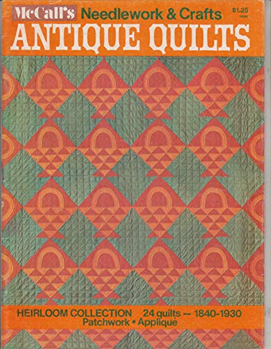 McCall's Needlework & Crafts Antique Quilts Heirloom Collection 24 Quilts 1840-1930