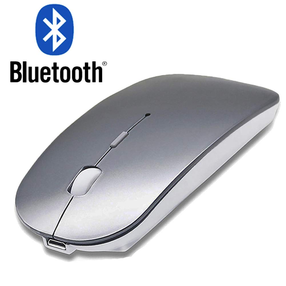Rechargeable Bluetooth Mouse for MacBook Air MacBook Pro Laptop MacBook Mac Wireless Bluetooth Wireless Mouse for Mac Laptop Mac Pro//Air Windows