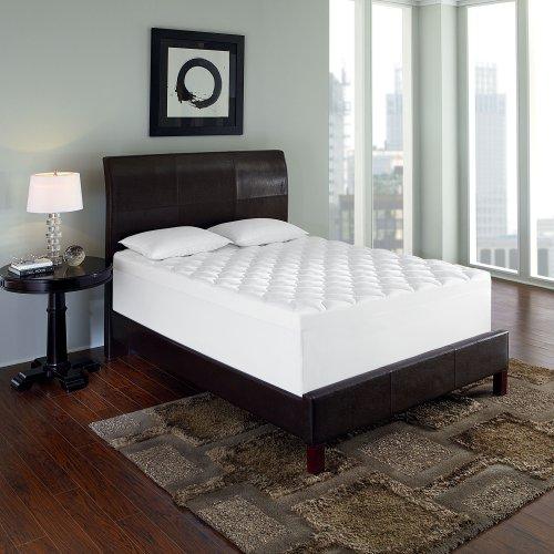 serta triple layer comfort 4 inch memory foam mattress topper king bedroom store. Black Bedroom Furniture Sets. Home Design Ideas