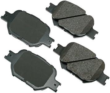 Disc Brake Pad Set-ProACT Ultra Premium Ceramic Pads Front Akebono ACT908