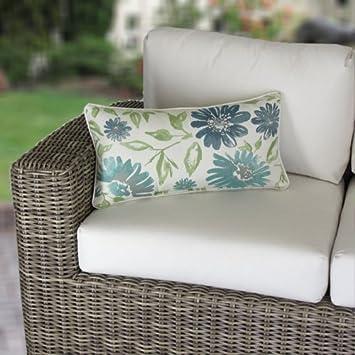 outdoor lumbar pillows on sale blue corded pillow made target