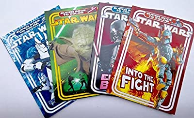 Star Wars Super Book to Color Coloring & Activity Books (Set of 4)