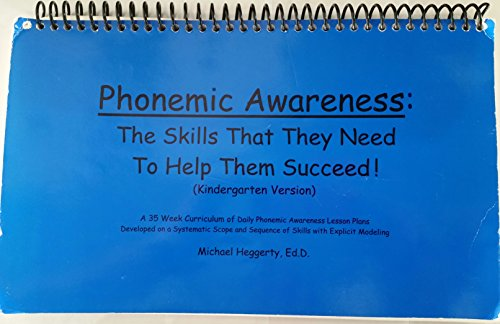 Phonemic Awareness (The Skills They Need To Help Them Succeed!) Kindergarten Version