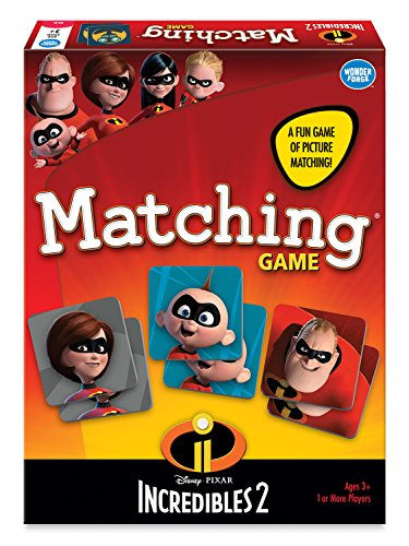 Wonder Forge the Incredibles 2 Matching Board Game