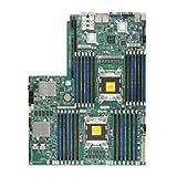 Supermicro X9DRW-7TPF Motherboard - Dual Socket R (LGA2011) / Intel C602 / DDR3 / PCI-E3.0 / SATA3 / SAS2 / Proprietary WIO