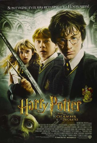 11 x 17 Harry Potter and the Chamber of Secrets Movie Poster