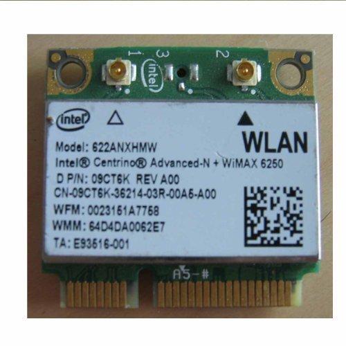 Dell 09ct6k Intel 6250 Advanced-n Wireless N Wimax 622anxhmw Half-mini Card Wifi Mini Card