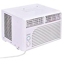 Apontus 5000 BTU 115V Window-Mounted Air Conditioner w/Mechanical Control